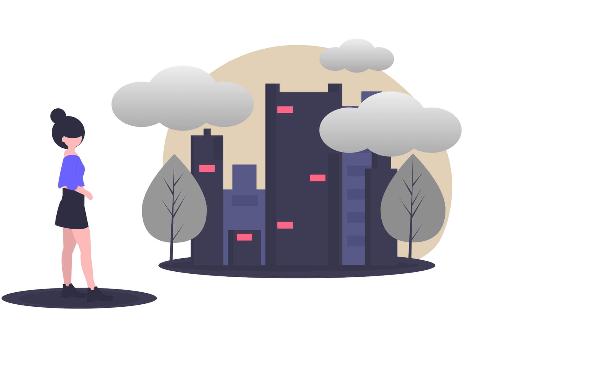 Contaminación en la ciudad CO2