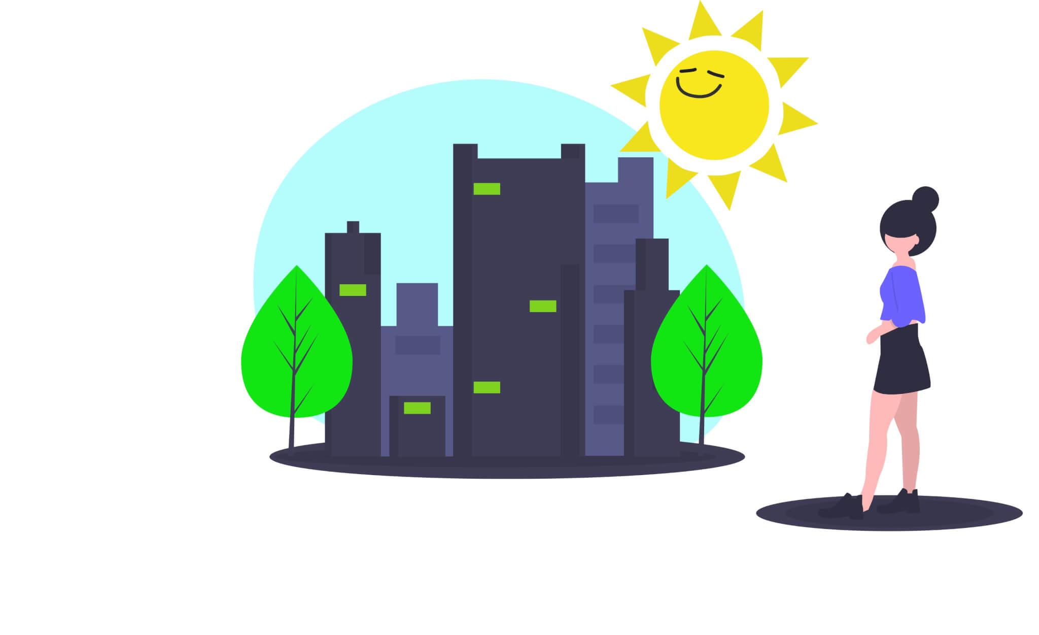 Ciudad movilidad sostenible compartir coche