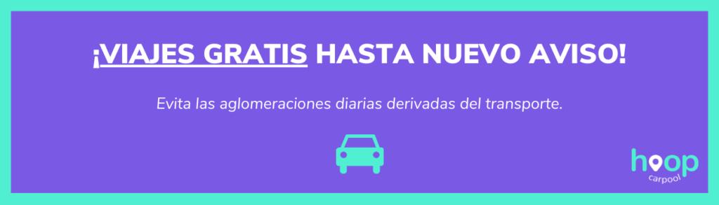 comparte coche y viaja gratis