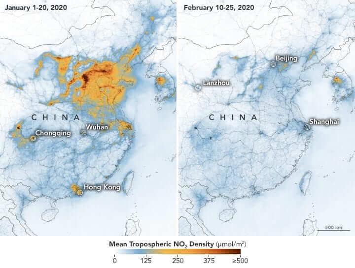 Impacto ambiental que se evidencia en la atmósfera
